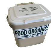 Food Organics Kitchen Caddy