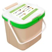 7 litre kitchen caddy bin