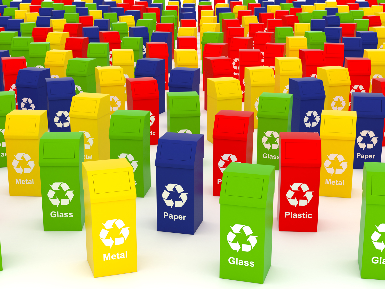 The many colours of waste and recycling | KS Environmental