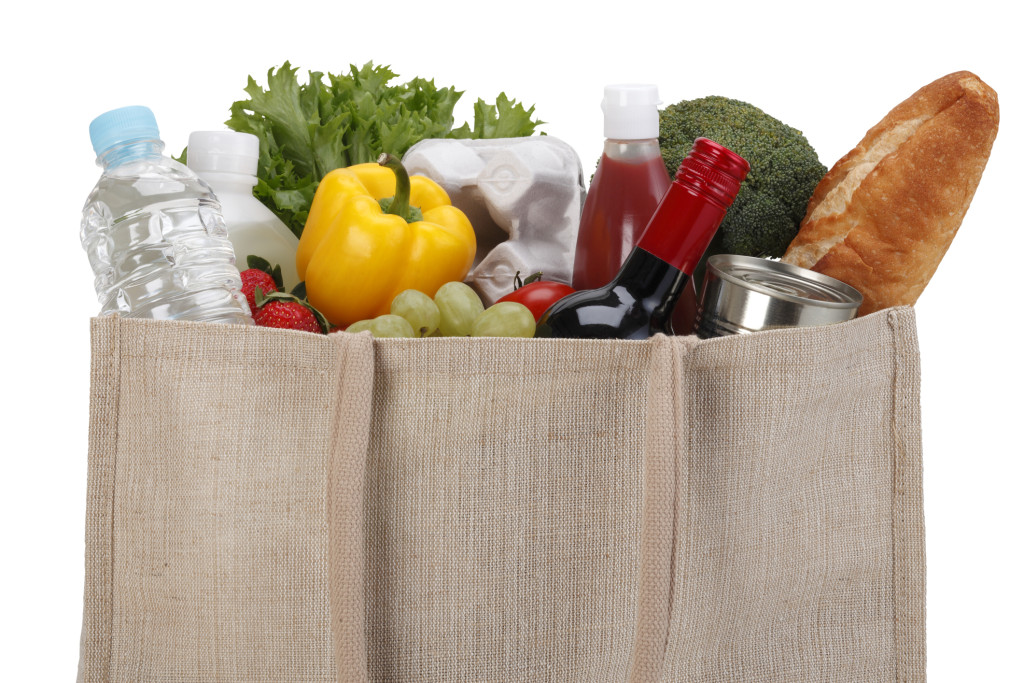 Eco Friendly Shopping bag /with clipping path