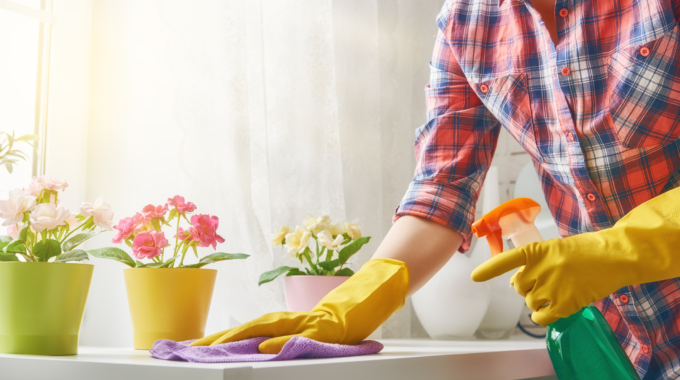6 tips for Sustainable Spring Cleaning