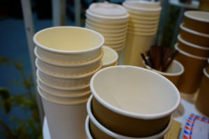 green resolutions - coffee cups