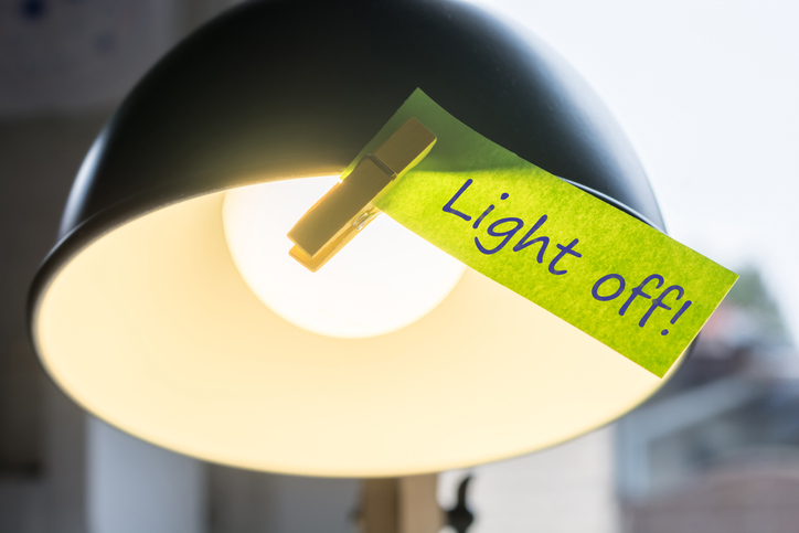 Energy Saving Tip - Lights